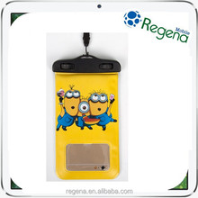 ABS universal cartoon mobile phone waterproof bag for iphone 6