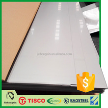 TISCO BAO STEEL BAOXIN LISCO QPSS square meter price price stainless steel plate 3 mm