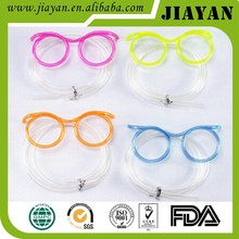 2015 hot selling kinds of color glasses drinking straws