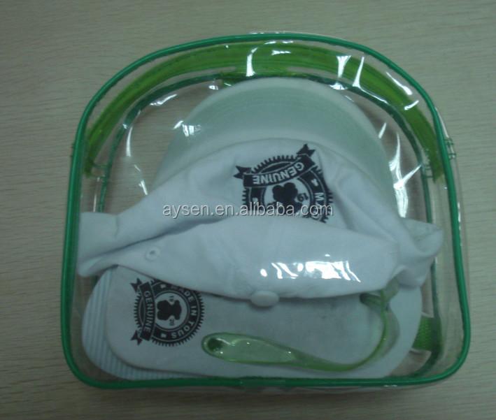 Lona de algodão personalizado zipper pouch com zipper