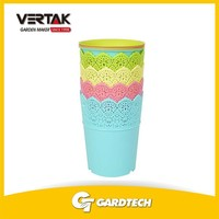 Good services competitive price glowing flower pot