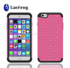 Plastic phone cover for Iphone 6 plus 5.5 inch made in China handmade