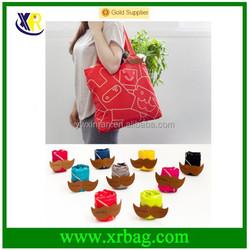 Foldable Fabric Tote Bag / Reusable eco Bag / Shopper Bag