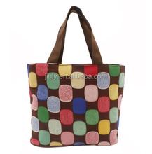 Foldable Women's Handbags Satchel Tote Shopping Bags