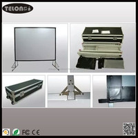 """300""""4:3 Fast fold/quick fold Screen / Fast folding projector screen, outdoor projection screen"""