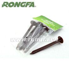 round 10pcs farm plastic cap ground nails