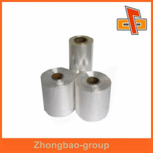 Shaped bottle packaging glossy pet film roll with high shrinkage