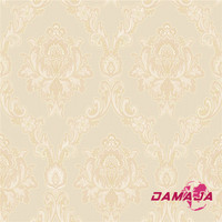 SJ101301 Damscus wallpaper/interior wall design/indian style home decoration