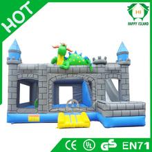 HI EN14960 Certification PVC inflatable castle ,bouncy castle ,jumping castle