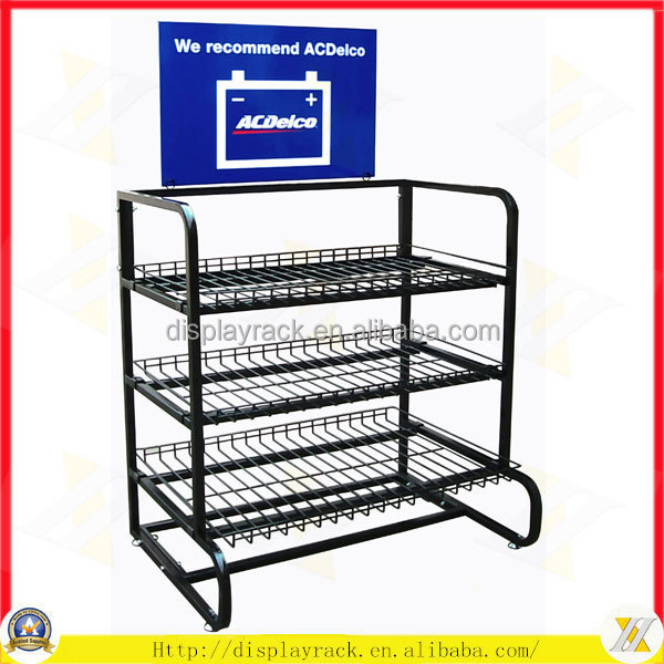 Economic Heavy Duty Car Battery Accumulator Display Stand Buy Impressive Car Battery Display Stands