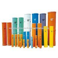 Fireworks fiberglass mortar tube for display shells
