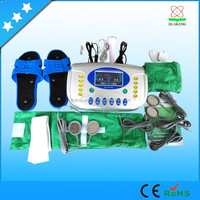 Home use Electric physical therapy machine with foot massagers