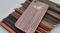 2015 new arrival Metal bumper frame + wood back cover Case for ip5/5S/6G/6 PLUS