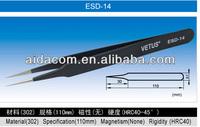 Stainless steel ESD-14 Tweezers