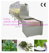 Offer tunnel box type microwave dryer for stevia/herbs dryer equipment