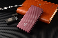 Purple Folio style cover, fully protecting your phone, PC housing for phone