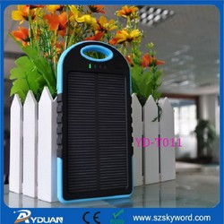 Factory price Dual usb waterproof solar charger for car battery
