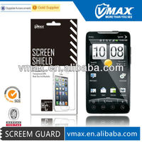 HTC mobile phone mirror screen protector for HTC EVO 4G ome/odm