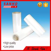 packaging material PE clear heat shrink plastic film