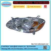 Toyota body parts toyota corolla altis 2003 head lamp