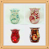 definite colorful tempered mosaic glass table candle warmer
