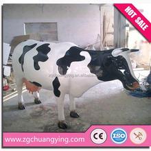 5m amusement park alive cow