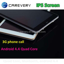 Low cost 3G tablet pc phone 7 inch mtk6582, tablet pc mid dual sim phone call