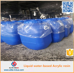 Liquid water-based acrylic resin for BOPP, OPP, CPP film printing