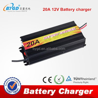 12v lead acid battery charger 15A three charging stages