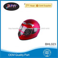 casco de moto cara llena de piezas de la motocicleta BHI