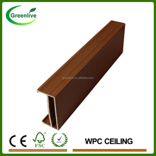 Easy install wood composite ceiling