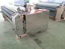 Qingdao 170,190cm single pump 2-nozzle plain shedding water jet loom