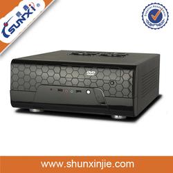 Horizontal Mini-ITX Desktop Industrial PC Case With Audio and USB SX-C9912