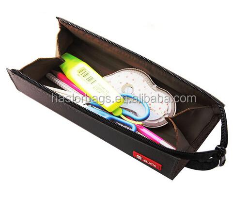 office rolling pencil bag /canvas adult pencil case