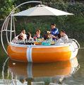 de plástico restaurante barco para la venta