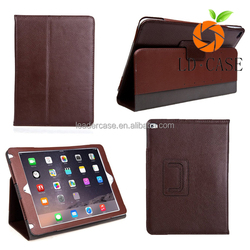 2016 best sell genuine Leather designer protector cover case for Ipad pro