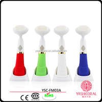 Ultrasonic Face Brush Eletrical Facial Cleansing Tool Machine Facial brush Pore Sonic Cleanser Surface of rubber oil