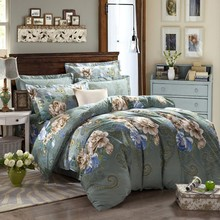 European and US style 3d wash painting patterns duvet covers beautiful design cheap bedding set wholesale