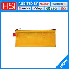 practical zipper mesh pencil pouch for high school