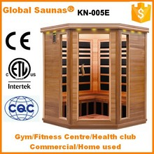CE/ETL Body building infrared sauna room commercial gym equipment