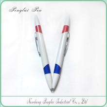 2015 Hot Sale Two Side Refill Twist Function Dual Ball Pen