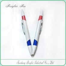 Hot Sale Two Side Refill Twist Function Dual Ball Pen