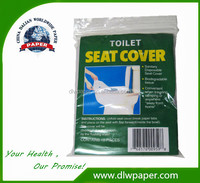 Travel Pack 1/24 fold toilet seat paper cover,ziplock bag,100% wood pulp,easy to take
