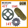 Spare Parts Motorcycle CD70 for Honda Shine Sprocket Chain Kits