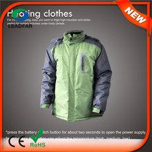 HJ08 7.4v Heated korean fashion winter coats men winter coat for men