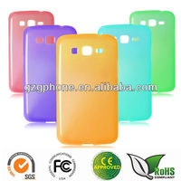 TPU soft cover case for Samsung Galaxy GRAND 2 G7106 cover