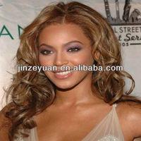 Factory price hot beauty virgin brazilian hair full lace wig in Qingdao