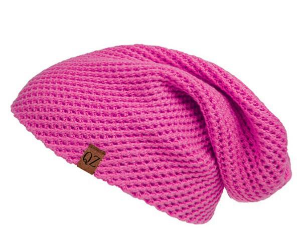 Slouchy Beanie Knitting Pattern,Oversized Knit Slouch ...