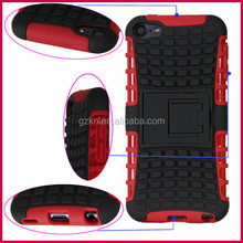Manufacturer directing Tough hard smart Shockproof Armor Cover case rugged heavy duty Case Dual Layer for iPod touch 5