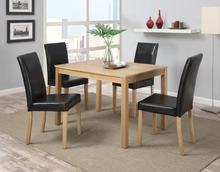 dark brown PU/Leather dining chair dining room furniture
